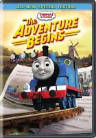 Thomas & Friends: The Adventure Begins (DVD,2017)