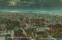 ATLANTIC CITY NJ – Atlantic City Birdseye View at Night - 1908
