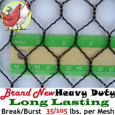 "Poultry Netting 25' x 150' 1"" Light Knitted Aviary Bird Plant Net Long Lasting!"
