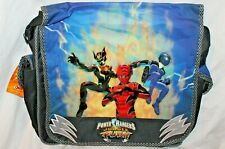 "Nwt Power Rangers Jungle Fury Messenger Backpack 14"" X 14"""