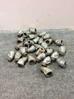 """Lot of 23  -  3/4"""" Elbow 45 degree angled Pipe Fitting Female Threaded Galvanize"""