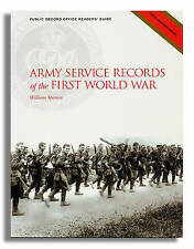 Army Service Records of the First World War (PRO Readers' Guide) by Simon Fowler