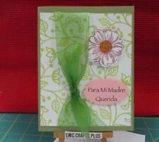 PARA MI MADRE QUERIDA GREETING CARD~ SPANISH ~ FOR MY DEAR MOTHER emc#77