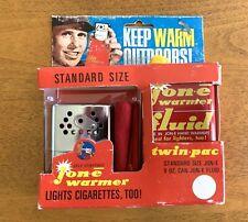Vintage Jon-e Hand Warmer Standard Size Twin Pac With Original Box