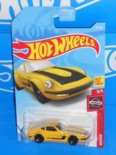 Hot Wheels 2019 Nissan Series #54 Nissan Fairlady Z Yellow w/ 5SPs NISMO