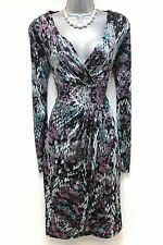 Stunning GHOST London Print Evening Occasion Day Dress Small 8/10