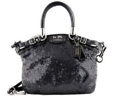 New coach Mini Madison Sophia sequin 18638 tote bag black shoulder sequins