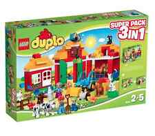 LEGO® DUPLO® 66525 Farm 3in1 Superpack (10521+10522+10525) NEU OVP NEW MISB NRFB