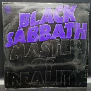 BLACK SABBATH - Master of Reality VERTIGO - ℗ 1971 Italy