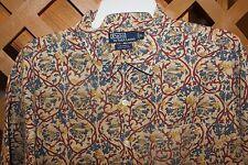 RALPH LAUREN  CALDWELL MEN'S  FLORAL PRINT SHIRT SIZE XL