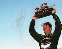 Dale Earnhardt Jr DARK KNIGHT MICHIGAN WIN #88 signed 8x10 photo *FREE SHIPPING*