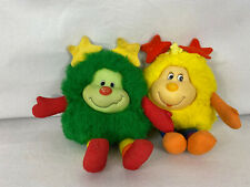 New ListingVintage 1983 Hallmark Rainbow Brite White Sprites yellow & green