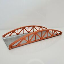 Vintage Gilbert American Flyer Truss Bridge Orange Silver USA