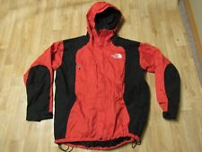 Vintage 90's The North Face Gore-Tex Mountain Light Jacket Red & Black Xl