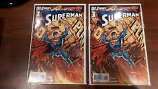 Superman 1 NM+ New 52   2 Books