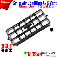 Air Condition Grille Vent Set Fits Nissan Hardbody D21 Pickup Truck 1986-97 TED