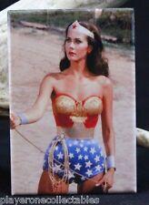 "Wonder Woman Photo 2"" X 3"" Fridge / Locker Magnet."