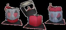 Creative Magic Cube Squared - Stage Illusion Trick Production Santa Produce kid