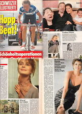 Schweizer Ill.Serge Gainsbourg,Kim Basinger,Raquel Welch,Cher,Paulina Porizkova