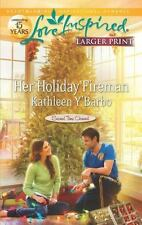Her Holiday Fireman (Love Inspired Large Print) Author: Y'Barbo, Kathleen