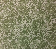 OUTDURA 701T TRIBAL FERN GREEN FLORAL 100% ACRYLIC OUTDOOR INDOOR FABRIC BTY