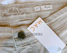 MAC Jeans Angela Depot 46 Stretch Pure Denim L30 Pant Hose Sand Beige Braun NEU