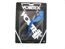 Vortex Blue Adjustable Motorcycle Shorty Brake Lever w/o Knuckle