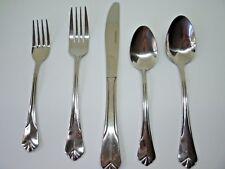 Farberware Stainless Bevel Bay Fan Tip Flatware Set of 5 Pieces