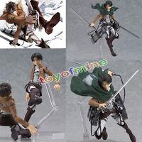 """5.3"""" Anime Attack On Titan Levi Shingeki PVC Action PVC  Figure  #213 No Box"""