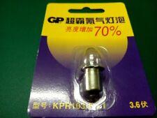 GP Krypton Replacement Bulb Lamp Flashlight P13.5s 3.6V 0.75A KPR103 FLASH