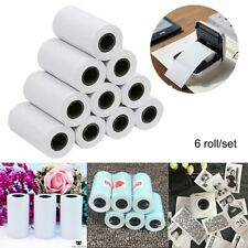 6 Roll 57X30mm Self-adhesive Thermal Sticker Printing Paper for Paperang Photo