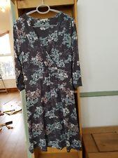 John rocha dress size 14 Grey Jersey
