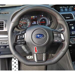 Carbon Fiber For Subaru WRX STI 4DR / Impreza CST Interior Steering Wheel Trim