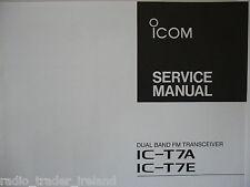 Icom-t7a-t7e (servizio autentico solo manuale)....... radio_trader_ireland.