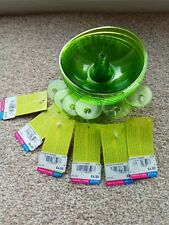 Koziol Snack Hat , Green Snack Bowl X 6 party . No more wasps in drinks