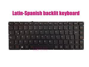 Latin-Spanish backlit keyboard for Lenovo Yoga 900-13ISK(80MK)/900-13ISK2(80UE)