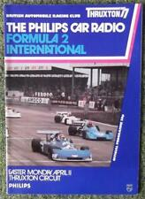 THRUXTON PHILIPS CAR RADIO FORMULA 2 INTERNATIONAL PROGRAMME 11 APR 1977