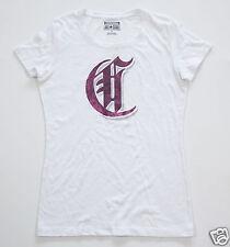 NUEVO All Star Converse Camiseta para señoras Camisa Chucks Blanco T. M C