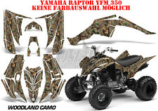 AMR RACING DEKOR GRAPHIC KIT ATV YAMAHA RAPTOR 125/250/350/660/700 WOODLAND B