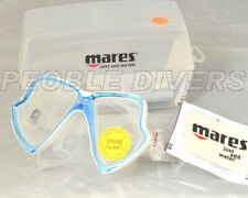 Mares X-Vision MID low volume mask Blue and White Trim