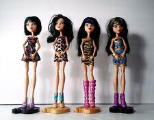 Monster High Lot of 4 Cleo De Nile Doll Mattel