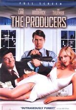 The Producers Broadway New DVD 2006 FS Nathan Lane Matthew Broderick Uma Thurman