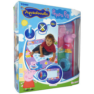 T72034 TOMY Peppa Pig Aquadoodle Large Water Play Mat Toddler Children Age 18m