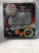📌Bakugan Battle Planet-Baku Storage Case(White)Collectible Creatures, Dragonoid