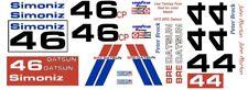 #46 BRE DATSUN 510 1972 Peter Brock - John Morton 1/32nd Scale Slot Car Decals