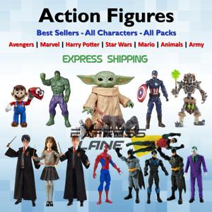 Action Figures Toys Super Heroes lot Animal Dinosaurs Kids Adult Marvel Legends