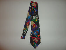 LOONEY TUNES MANIA Neck Tie TWEETY Bugs Bunny TAZ Daffy MARTIAN Yosemite SAM