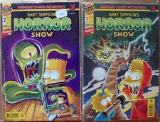 Bart Simpson´s Horror Show #1 und #2 NEU! The Simpsons