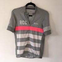 Rapha Cycling Performance Roadwear Short Sleeve Jersey Grey/pink RCC Large