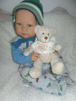 Traumdolls Doro Dolls Babypuppe William 52 cm mit Schnuller Spielpuppe Baby NEU